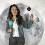 DIY galaxy photo booth