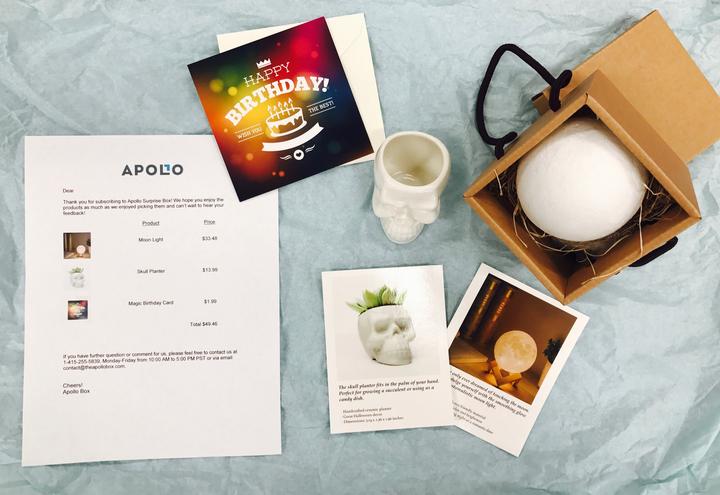 Apollo Surprise Box